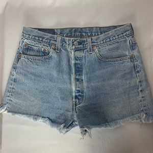 Levi's 501 Vintage High Waist ButtonFly Jean Short